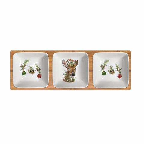 Paperproducts Design - Christnmas Princess Dipping Dish Set