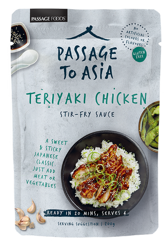 Passage to Asia - Teriyaki Chicken Stir-fry Sauce 200g