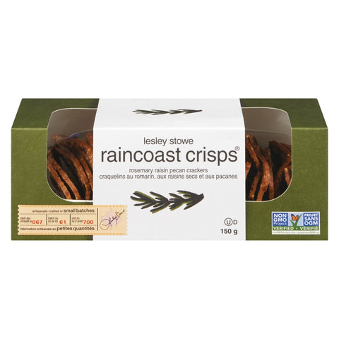 Raincoast Crisps - Rosemary Raisin Pecan Crackers