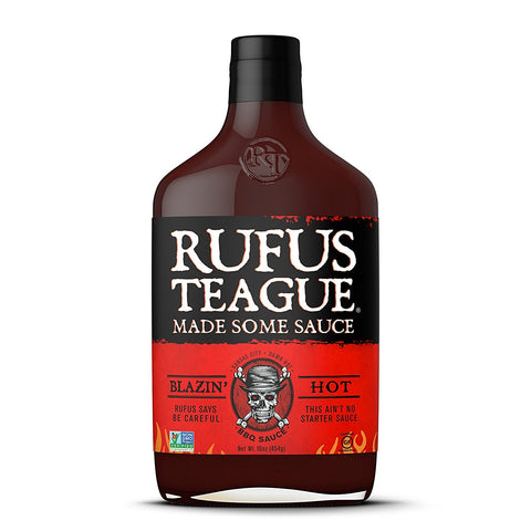 Rufus Teague - BBQ Sauce - Blazin Hot