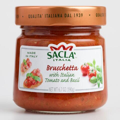 Sacla Italia - Bruschetta tomato and olive