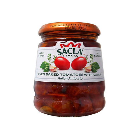 Sacla Italia - Oven Baked Tomatoes with Garlic