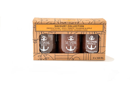 SaltSpring Kitchen- Savory Trio 3 x 125ml
