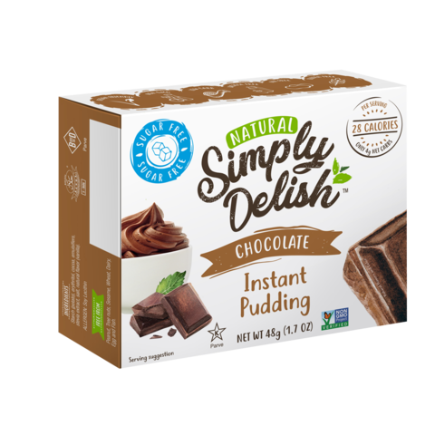 Simply Delish - Pudding - Chocolate 48gr Gluten Free
