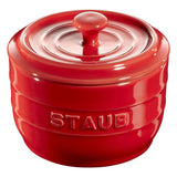 Staub – Salt Crock – Ceramic – Cherry