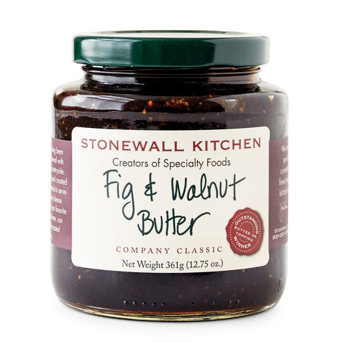 Stonewall Kitchen - Butters - Fig & Walnut 361g