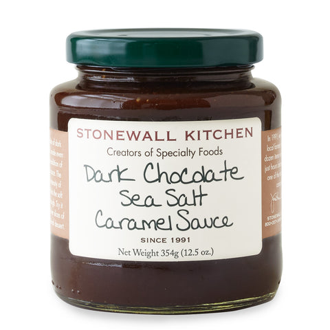 Stonewall Kitchen - Sauce - Dark Chocolate Sea Salt Caramel Sauce 354g