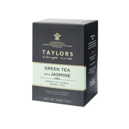 Taylors of Harrogate Green Tea with Jasmine 20 bags