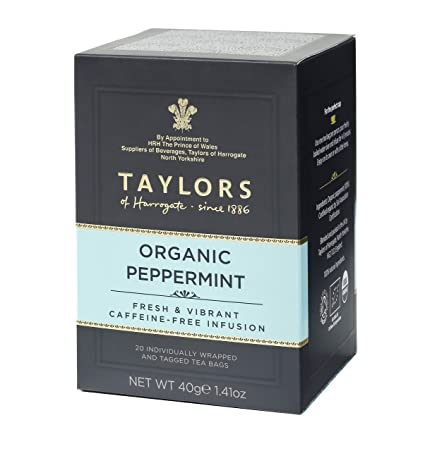 Taylors of Harrogate Organic Peppermint 20 bags