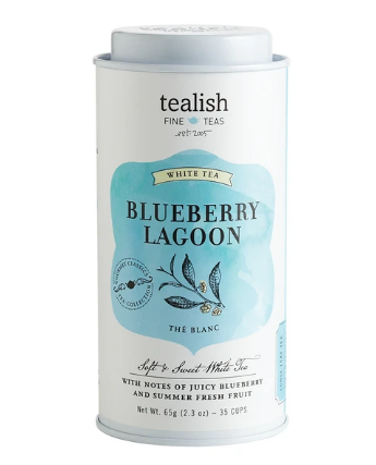 Tealish Fine - Tea - Blueberry Lagoon White Tea Tin 65g