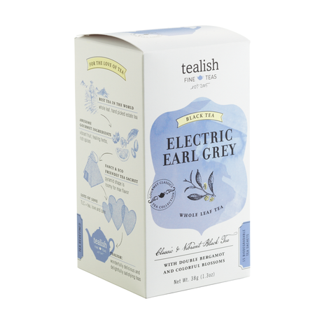 Tealish Fine - Tea - Electric Earl Grey Black Tea 15 sachets