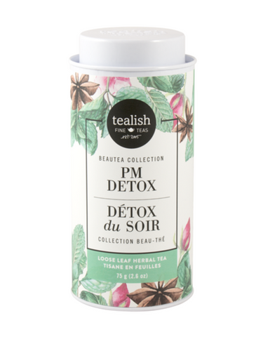 Tealish Fine - Tea - PM Detox Herbal Tea Tin 75g