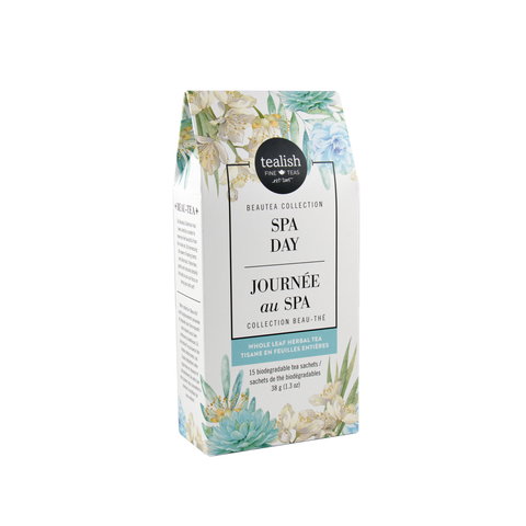 Tealish Fine - Tea - Spa Day 15 Sachets Herbal Tea