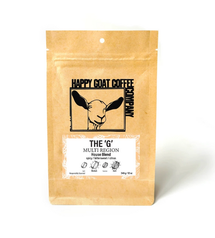 Happy Goat Coffee The G-Blend 3/4lb