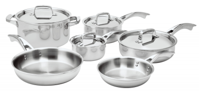ZWILLING® TruClad 10 PC COOKWARE SET