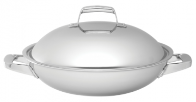 "ZWILLING® TruClad 13"" / 32 cm WOK WITH LID"