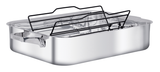 "ZWILLING® TruClad 16"" / 40 cm ROASTER WITH RACK"