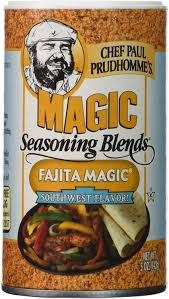 Chef Paul Prudhomme Magic Seasoning Blend Fajita Magic 5oz