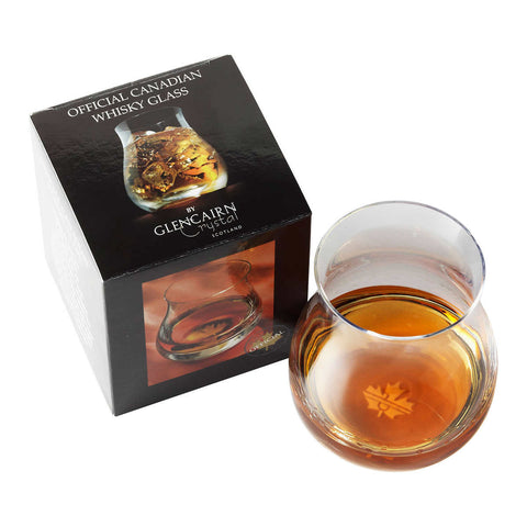Glencairn Official Canadian Whisky Glass