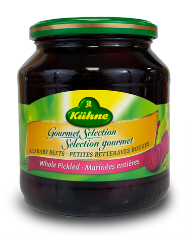 Kuhne Pickled Baby Beets 500ml