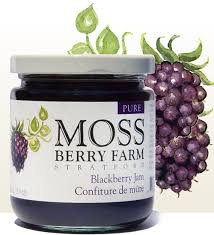 Moss Berry Farm Blackberry Jam 250ml