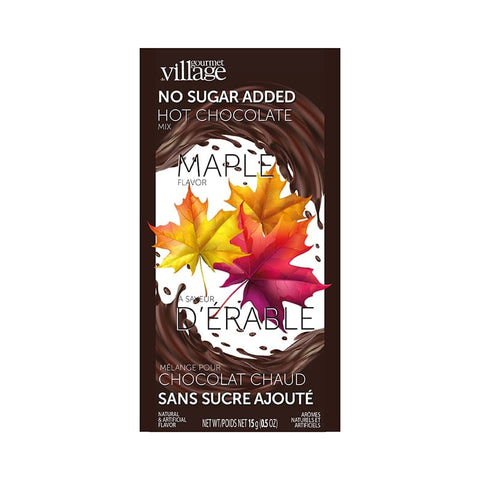 Gourmet du Village - Hot Chocolate Mix - No Sugar Added Maple