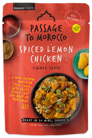 Passage to Morocco - Spiced Lemon Chicken Simmer Sauce 200g