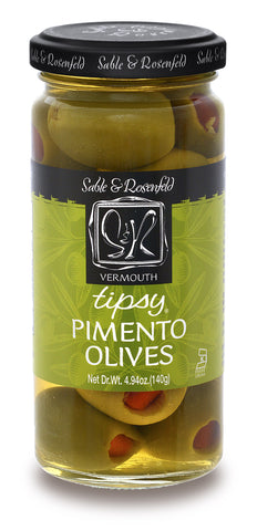 Sable & Rosenfeld - Vermouth Tipsy Pimento Olives 250ml