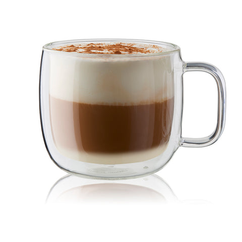 Zwilling Sorrento Plus - Cappuccino Glass (with handle)