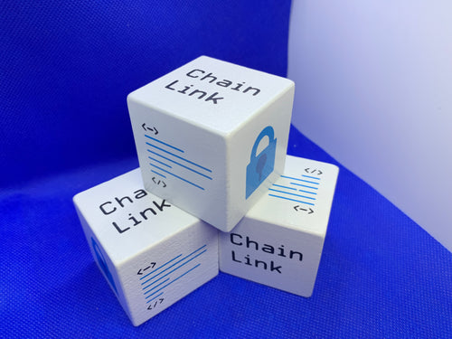 Lucky Chainlink Cube, Lucky Link Cube. 5cm/2