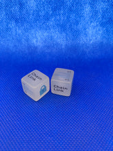 Load image into Gallery viewer, ChainLink Glow Dice, ChainLink Glow In The Dark Dice!!! BUY IN LOTS OF 2 AND SAVE!!!