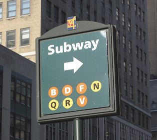 Vintage Subway Signs