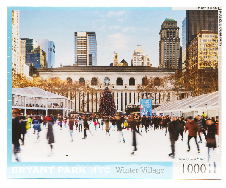Bryant Park Winter Village Puzzle