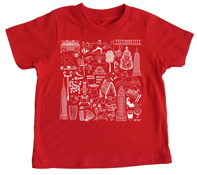 Iconic Bryant Park Toddler T-Shirt