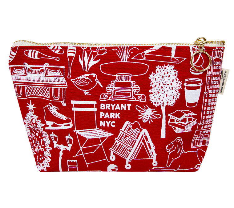 Iconic Bryant Park Zip Pouch