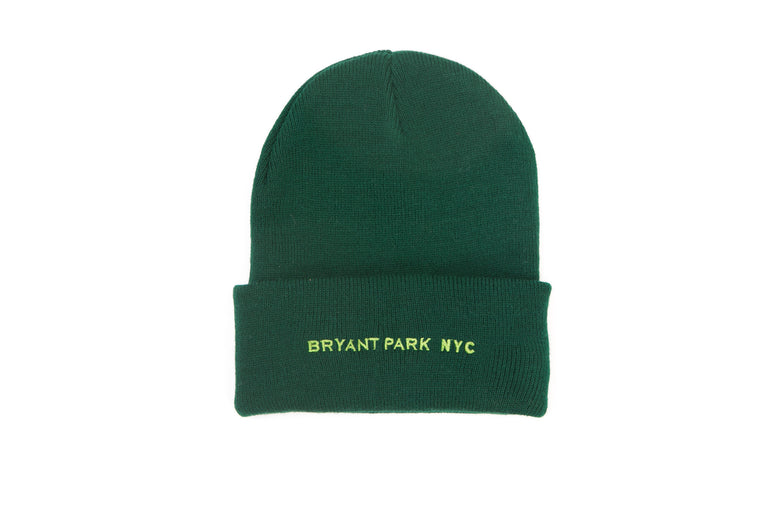 Bryant Park NYC Knit Cap