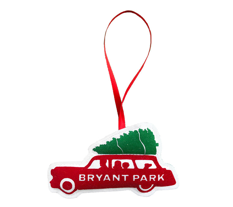 Christmas Car Ornament