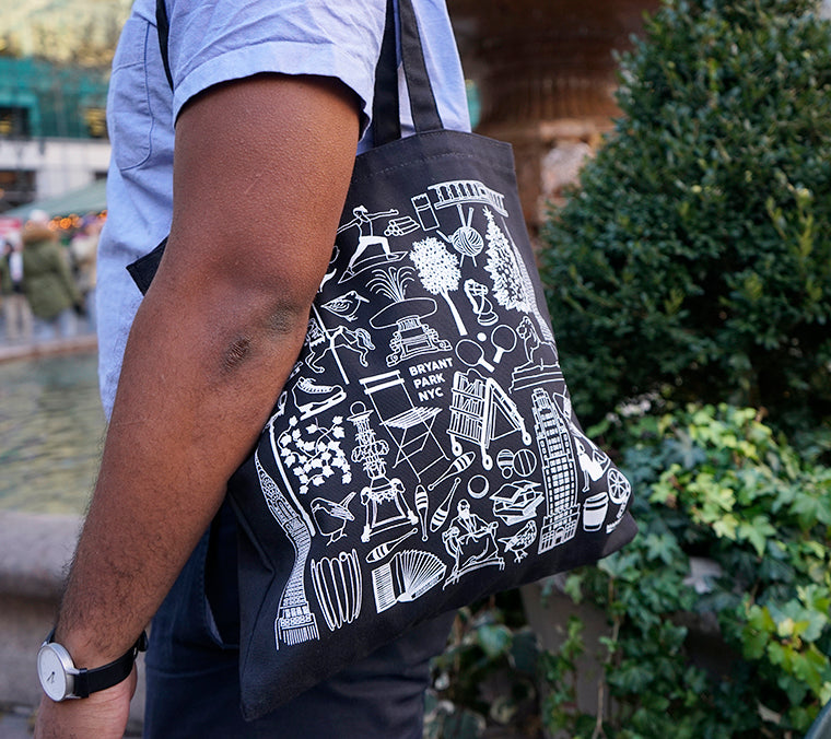 Iconic Bryant Park Tote Bag