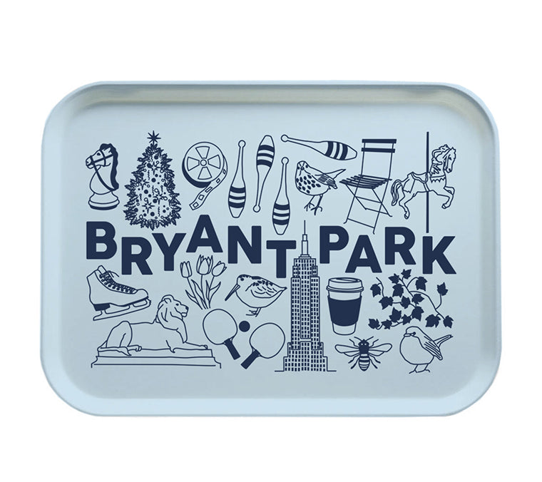 Iconic Bryant Park Tray
