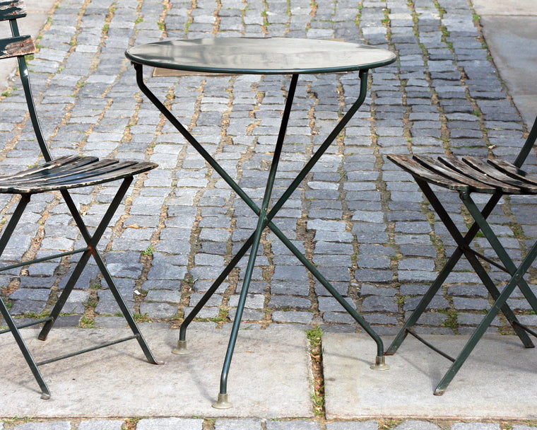 Vintage Bryant Park Table