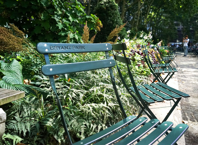 Vintage Bryant Park Chair