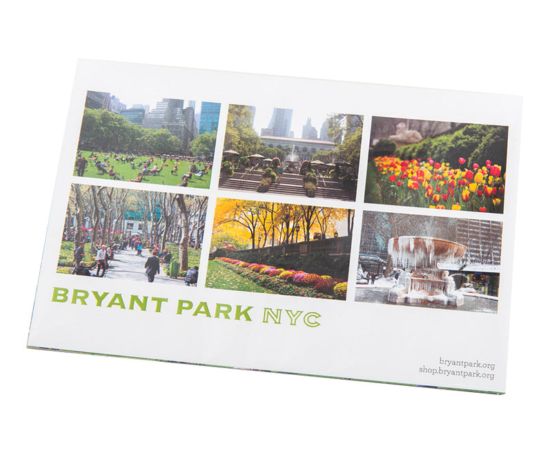 Seasons of Bryant Park Postcards