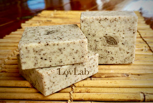 African Black Soap with Rosemary