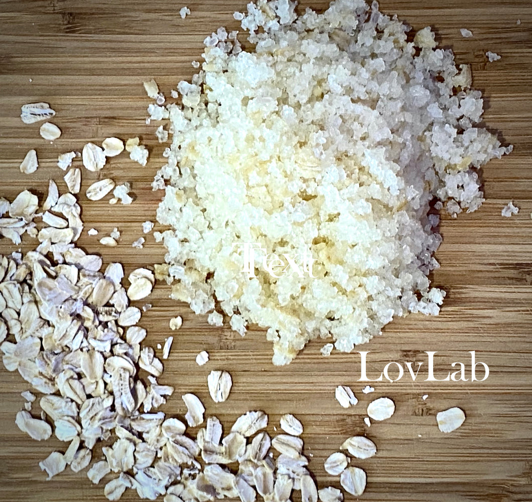 Oatmeal & Honey Bath Salts