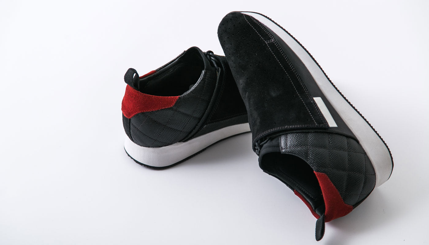 Honda HT3 Driving Shoe Heel Quarter View