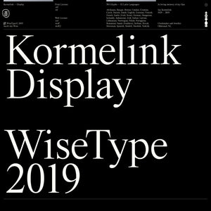 Kormelink — Display (Web License)