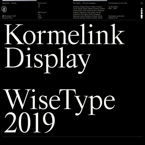 Kormelink — Display (Print License)