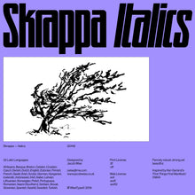 Load image into Gallery viewer, Skrappa — Italics (Print License)
