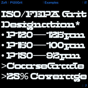 Zaft — P120Grit (Web License)