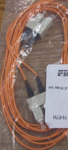 FIBERTRON 5M 62/2F MM LC-SC Fiber Patch Cable, Ceramic Zip (2MM)